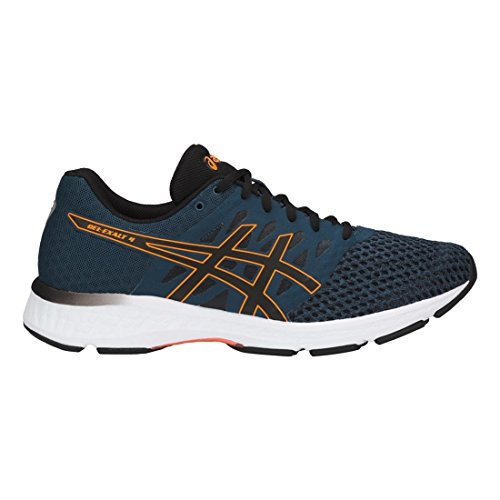 Asics Herren Gel-Exalt 4 Schuhe Dark Blue/Black/Shocking Orange