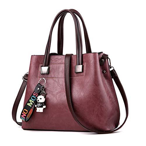 bandolera Mujer Púrpura clutches mano y Carteras de hombro Shoppers bolsos de Bolsos y 6BHpwBYq