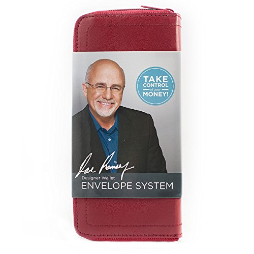 Dave Ramsey System (Red Designer Wallet Envelope System (Dave Ramsey's Financial Peace University))