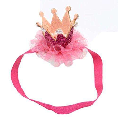 TRENDINAO Cute Unisex Baby Crown Headwear Headband Photography (Jeweled Ear Warmer)