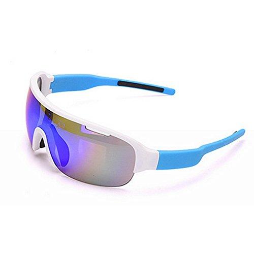 Hombre Montar Azul Gafas Dos De De Gafas Gafas Color Libre De para Viento Miopía Prueba Bicicleta de Azul Aire Juegos A Deportes Al Sol LBY apg4W