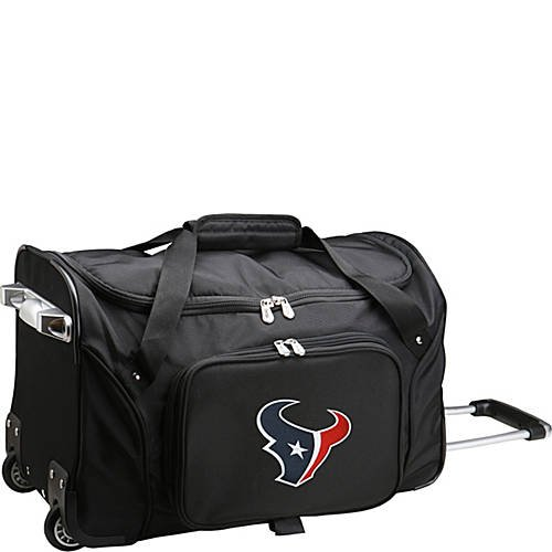 NFL 22'' Rolling Duffel Houston Texans by TableTop King