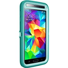 OtterBox Defender Series for Samsung Galaxy S5 - Retail Packaging - Aqua Sky (Blue/Light Teal)
