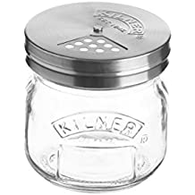 Kilner Storage Jar & Shaker Lid, 8-1/2 Fluid Ounces