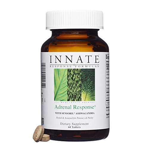 INNATE Response Formulas - Adrenal Response, Supports a Healthy Stress Response, 60 Tablets