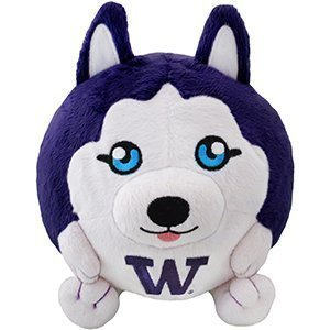 - Squishable Yay-Team University of Washington (UW) Husky Licensed Plush, 5