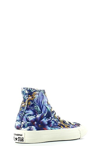 Graphic multi Canvas Converse Floral Sneaker Femmes Hi Toile High Chuck Peacock Taylor OHqxqvFp