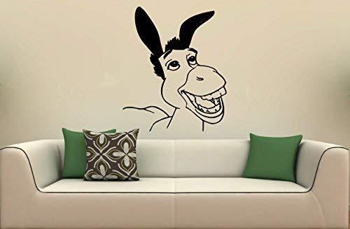 Yetta Quiller Vinyl Decal Mural Vinyl Sticker Wall Art Shrek Kids Room S1511 ()