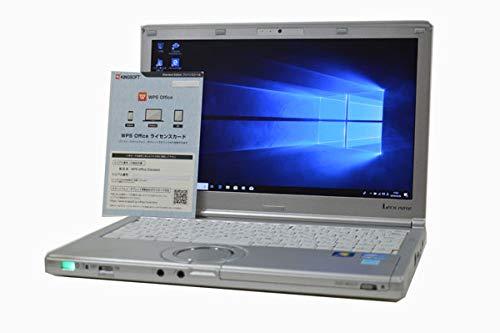 ノートパソコン 【OFFICE搭載】 SSD 128GB Panasonic Let'snote CF-SX1 第2世代 Core i5 2540M HD+ (1600×900) 12.1インチ 4GB/128GB/DVDマルチ/WiFi対応無線LAN/Bluetooth/Webカメラ/Windows 10 / Win7 Pro DtoD 64bit 32bit 対応 軽量1.40kg   B07P963HFZ