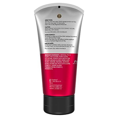 Olay Regenerist Regenerating Cream Face Cleanser, 5.0 Fluid Ounce (Pack of 3)