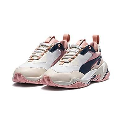 PUMA Women's Thunder RIVE Gauche WN's Sneakers, Dress Blues-Peach Beige, 6 US