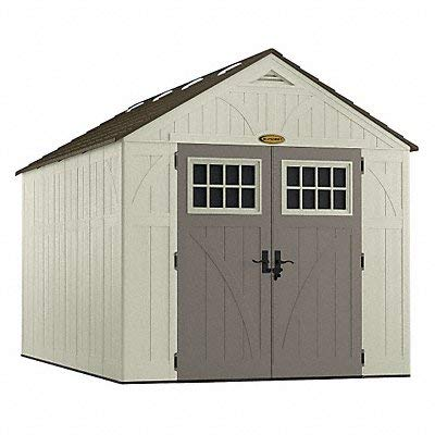 """Suncast BMS8130 Tremont Resin Storage Shed, 13' 2-3/4"""" by 8' 4-1/2"""""""