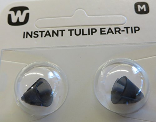 Widex Easy Wear Instant Tulip Ear-Tip Size:Medium Qty:10 for sale  Delivered anywhere in USA
