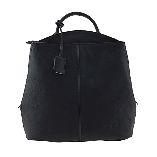 PEPE MOLL Mochila convertible en bolso con asita Negro