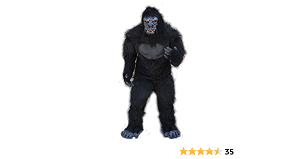 GORILLA APE ONE PIECE ADULT UNISEX  SLEEPER OR COSTUME BRAND NEW WITH TAGS