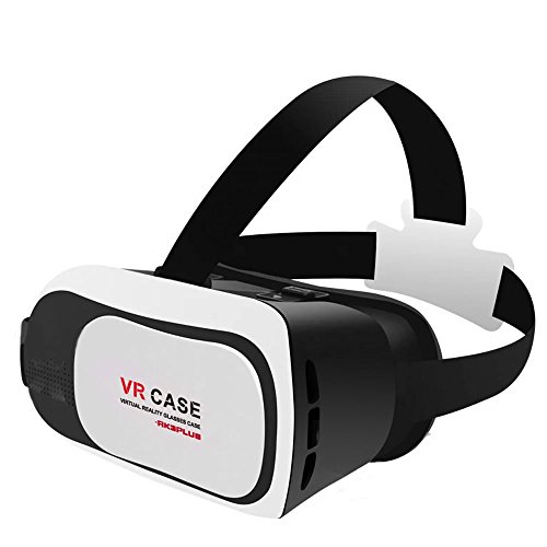 """3D VR Glasses, Skque® 2016 Newest Version 3D VR Virtual Reality Headset VR Glasses Google Cardboard Suitable for 4~5.5"""" Samsung Note, LG, Huawei, HTC, Moto screen Smartphones"""