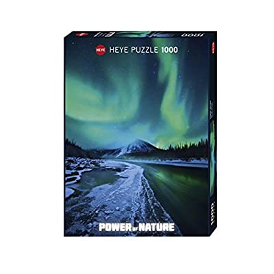 Heye Northern Lights 1000 Piece Power of Nature Jigsaw Puzzle: Toys & Games