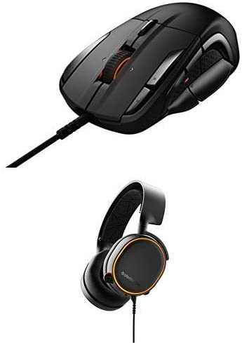 SteelSeries Rival 500 Mouse and Arctis 5 Headset Bundle