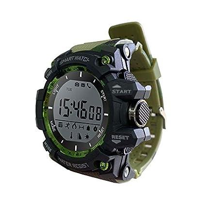 LEOTEC Reloj SMARTWATCH Camuflaje Mountain BT NOTIFICAC Cristal ...