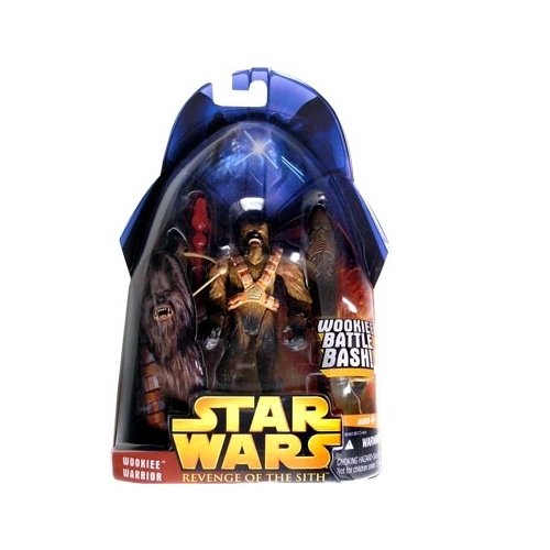 Star Wars: Revenge of the Sith Wookiee Warrior (Dark) (#43) Action Figure by Puzzle Zoo