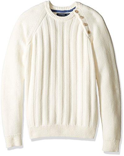 nautica-mens-long-sleeve-textured-shoulder-sweater-whitecap-small