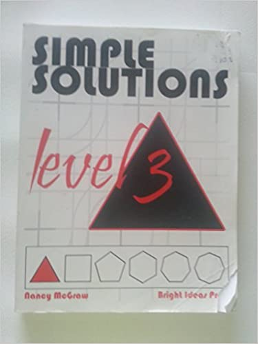 Simple solutions math level 3 nancy l mcgraw 9780972873000 simple solutions math level 3 nancy l mcgraw 9780972873000 amazon books fandeluxe Images
