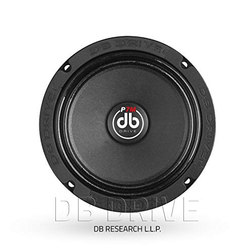 db Drive P7M 6C Pro Audio Midrange Speaker 325W, 6.5''