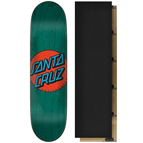 どのくらいの頻度で窒素プログラムSanta Cruzスケートボードデッキクラシックドットブルー8.375