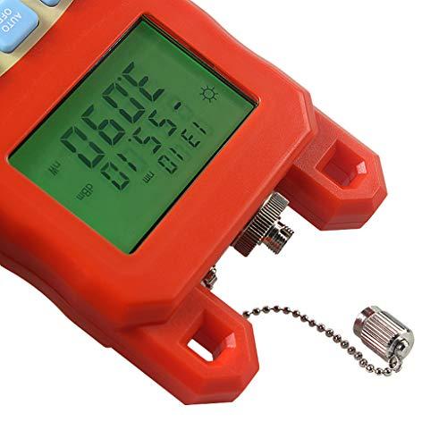 Baosity Pack Portable Optical Fiber Power Meter Tester Measure -70dBm~+10dBm + 1mW 5KM Visual Fault Locator Fiber Tester Detector Meter Pen by Baosity (Image #5)