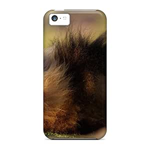 Forever Collectibles Animals Beasts The Weakened Lion Hard Snap-on Iphone 5c Cases