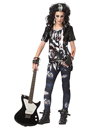 California Costumes Toys Rocked Out Zombie, (Punk Rocker Girl Halloween Costumes)
