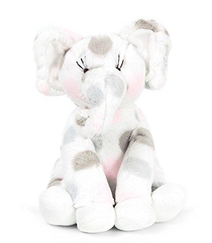 Little Giraffe Little E Stuffed Elephant Plush Toy, Pink