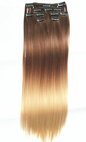 Extensions Straight Blonde Chocolate blonde