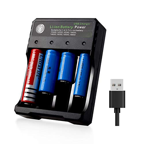 18650 Smart Battery Charger