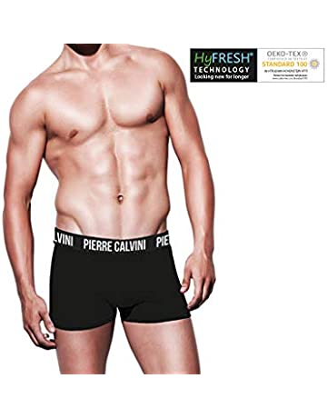 b2af9d8b1701d Pierre Calvini Men's Fitted Hipster Boxer Shorts 8 Pack