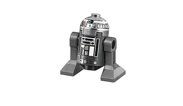 NEW LEGO STAR WARS MINIFIG DROID R2-Q2 SILVER 75218