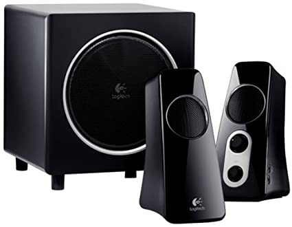 81789eb4fcd Image Unavailable. Image not available for. Color: Logitech Speaker System  Z523 with Subwoofer