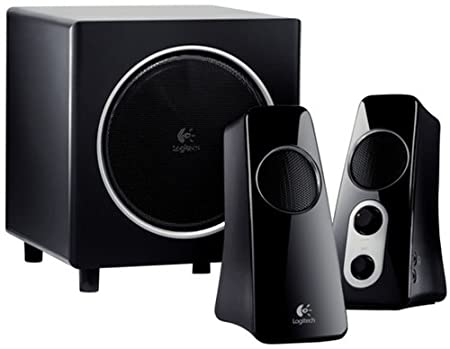 Review Logitech Speaker System Z523 with Subwoofer