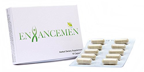 EnhanceMen - The Most Effective Fast Acting Male Testosterone Booster to Improve Size, Energy and Stamina With a Fast Acting Enhancement Formula (10 Capsules) - Erectile Enhancement Formula