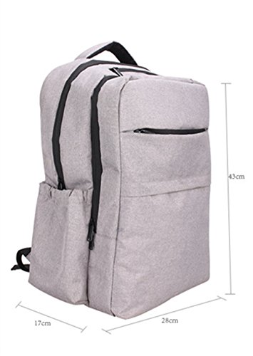 BigForest Multifunction Baby Diaper Nappy Changing Bag Mummy Backpack Travel Bag Tote Handbag Black