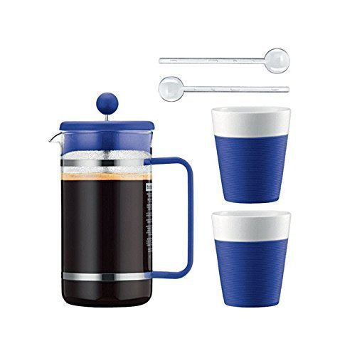 FRNCH PRESS & 2 MUG 34OZ by BODUM MfrPartNo AK1508-XY-Y15