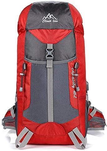 BAJIMI ハイキングバックパック、学生のバックパック、男性女性のための旅行バックパック防水通気性のトレッキングハイキング登山クライミングキャンプリュックサック(45L)