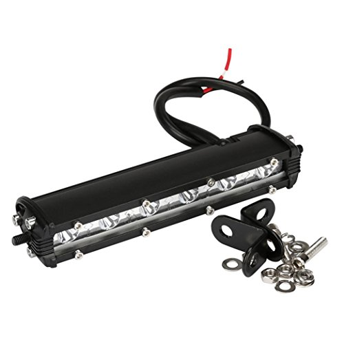 - Gotd Extreme Slim LED Light Bar Waterproof IP67 18W 5.5 Cree LED Single Row Lights Bar