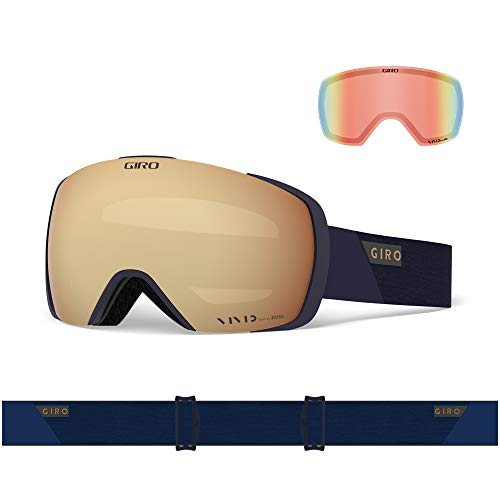 Giro Contact Snow Goggles Magnetic Change 2 Lenses