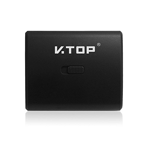V.TOP HSW03 4Kx2k Manual Controlled 2-In-1-Out HDMI Switcher or 1-In-1-Out Monitor Selector (Black)