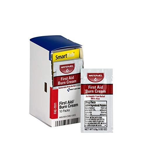 SmartCompliance Refill First Aid Burn Cream, 10 Per Box | Emergency Kit Trauma Kits First Aid Cabinet Refills