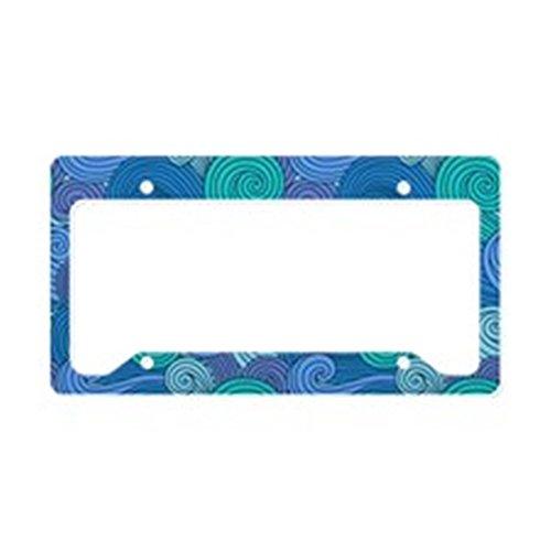 ocean license plate frame - 1