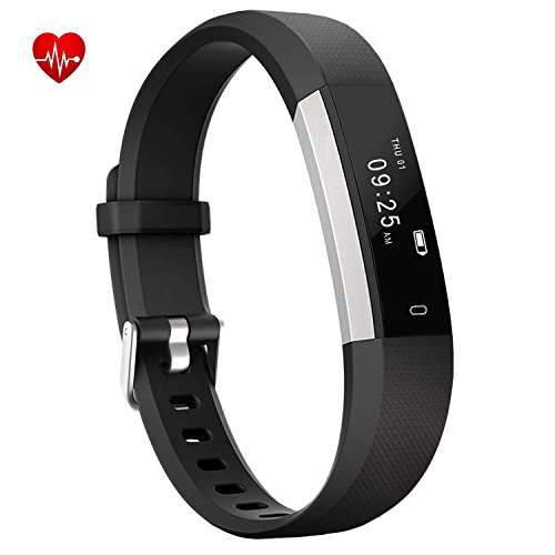Chianruey Fitness Tracker, Activity Tracker with Heart Rate Monitor,Steps Counter IP67 Waterproof Smart Watch with Calorie Counter Watch Pedometer Sleep Monitor for Kids Women ()