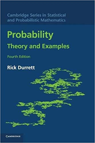 Amazon com: Probability: Theory and Examples (Cambridge