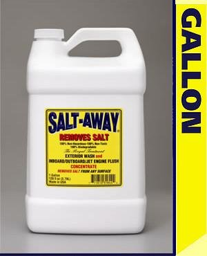 Salt Away Gallon CONCENTRATE WITH 6oz MIXING UNIT plus one Universal motor flus by Salt Away (Image #2)